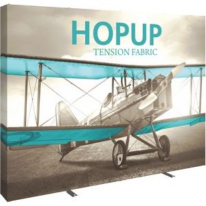 Hopup 10ft Straight Display & Tension Fabric Graphic